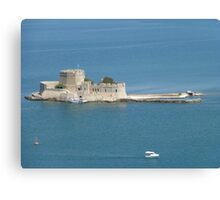 Bourtzi Castle Island, Nafplio, Greece Canvas Print