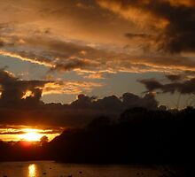 Wanstead Park Sunset by Vicki Spindler (VHS Photography)