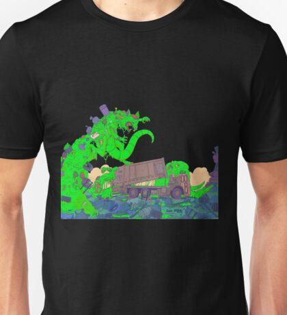 Toxic Garbage slime monster Unisex T-Shirt