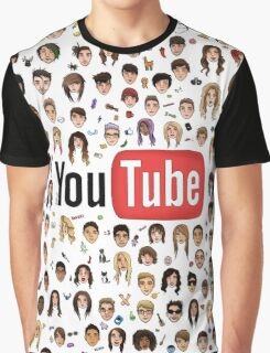 Youtube / Youtuber Graphic T-Shirt  Graphic T-Shirt