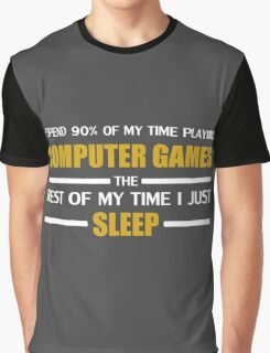 Computer Games Graphic T-Shirt