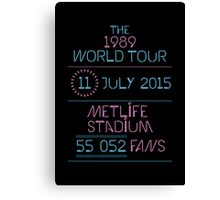 11th July - MetLife Stadium Canvas Print