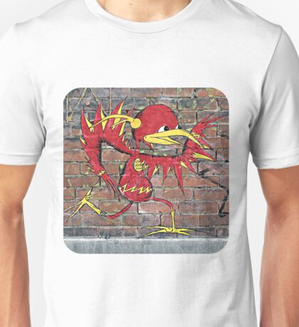 Red Bird Runs Unisex T-Shirt