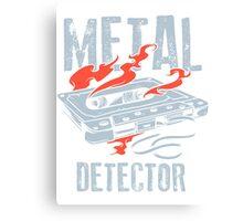 Metal Detector Canvas Print
