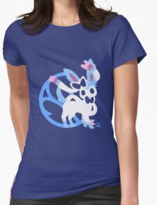 Sylveon Shiny Womens Fitted T-Shirt