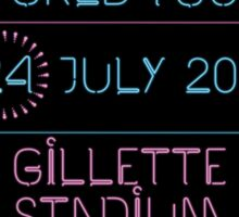 24th July - Gillette Stadium Sticker