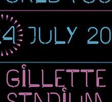 24th July - Gillette Stadium Sticker