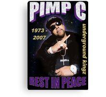 R.I.P. Pimp C Canvas Print