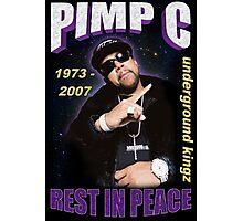 R.I.P. Pimp C Photographic Print