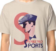 Retro 1920s style Italian men's golf sports fashion advert Classic T-Shirt