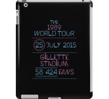25th July - Gillette Stadium iPad Case/Skin