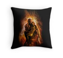 The Ashes and the Fire Throw Pillow