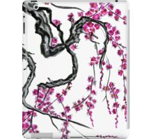 Pink flowers of sakura iPad Case/Skin