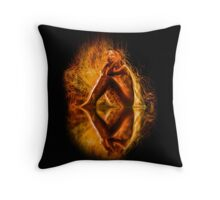 The Spirit and the Fire Throw Pillow