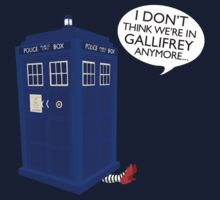 I Don't Think We're in Gallifrey Anymore... by painted-lizard