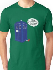 I Don't Think We're in Gallifrey Anymore... Unisex T-Shirt