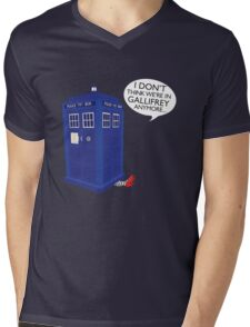 I Don't Think We're in Gallifrey Anymore... Mens V-Neck T-Shirt