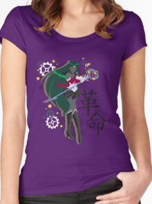 Soldier of Time & Revolution Women's Fitted Scoop T-Shirt
