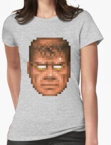 Doom Face 7 Womens Fitted T-Shirt
