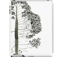 Single Pine, a symbol of longevity iPad Case/Skin