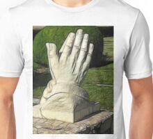 Praying Hands - Sketch Unisex T-Shirt