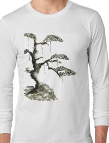 Chinese pine, a symbol of longevity Long Sleeve T-Shirt