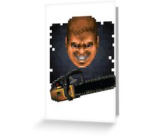 Doom Face 8 Greeting Card
