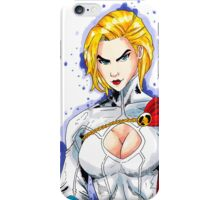 Power Girl iPhone Case/Skin