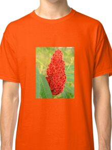 Northern red flower. Classic T-Shirt