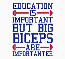 Big Biceps Gym Quote Unisex T-Shirt