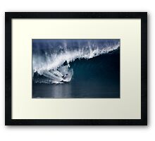 The Art Of Surfing In Hawaii 32 Framed Print