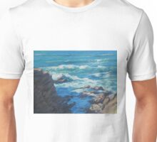 Along the Cliffs - Seascape Unisex T-Shirt