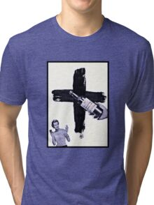 Grand Central Station of the Cross Tri-blend T-Shirt
