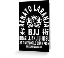 Renato Laranja Greeting Card