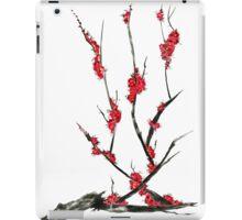 Pink flowers of sakura  iPad Case/Skin