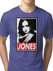 JESSICA JONES - Obey Design Tri-blend T-Shirt