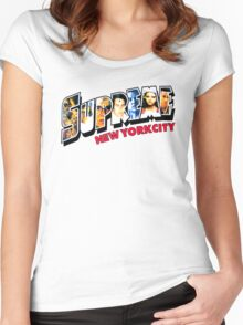 NEW YORK ICON : TSHIRT Women's Fitted Scoop T-Shirt