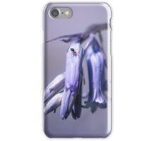 Bluebell flower iPhone Case/Skin
