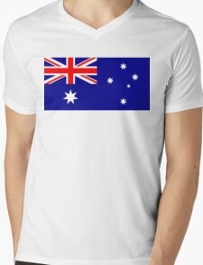 Australia Mens V-Neck T-Shirt
