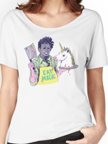 Eat Magic Women's Relaxed Fit T-Shirt