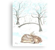 Off Season Canvas Print