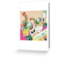Collage Pop Greeting Card