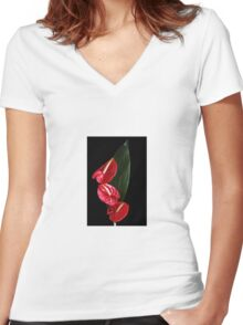 Plant Women's Fitted V-Neck T-Shirt
