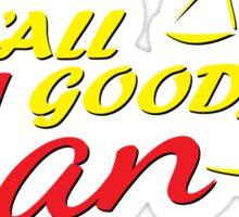 Better Call Saul - S'all Good, Man Sticker