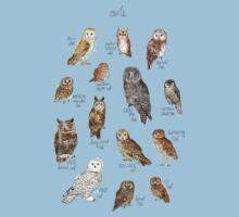 Owls One Piece - Short Sleeve