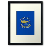 Cloud City Freezers - Star Wars Sports Teams Framed Print