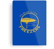 Cloud City Freezers - Star Wars Sports Teams Metal Print