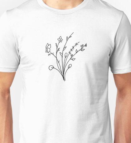 wildflowers Unisex T-Shirt