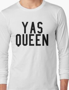 Yas Queen Long Sleeve T-Shirt
