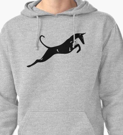 UniQ smooth leaping ibizan hound Pullover Hoodie